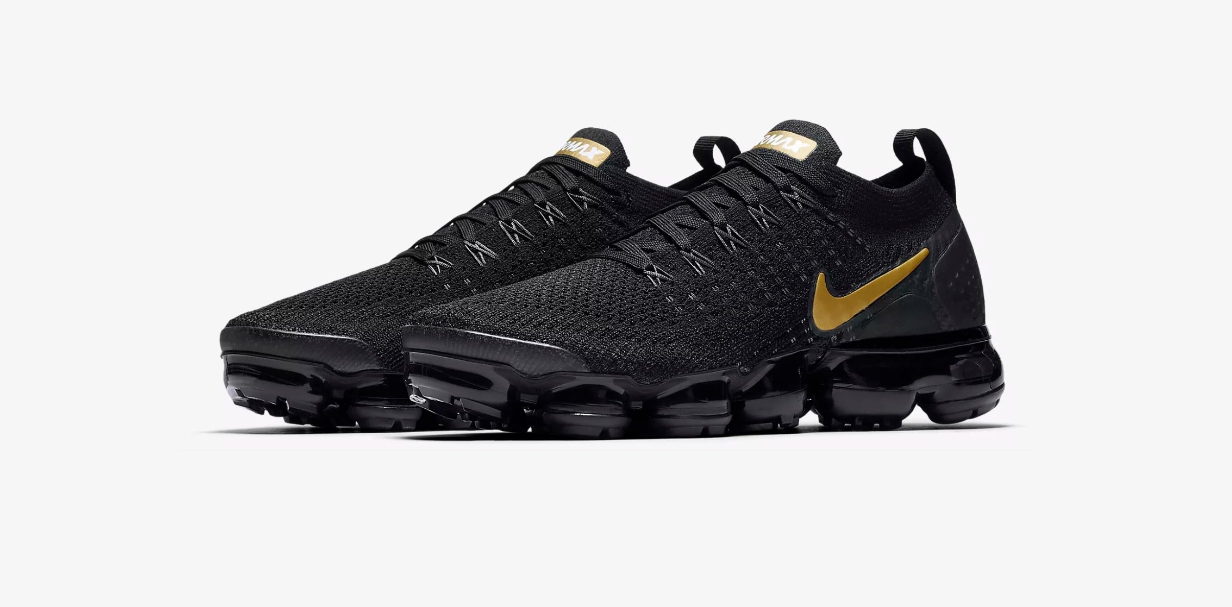 Nike Air VaporMax - Black/Gold