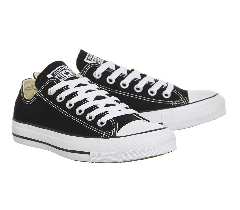 293d96e8360006 ALL STAR Chuck Taylor Low - Black – Black Diamond Clothing