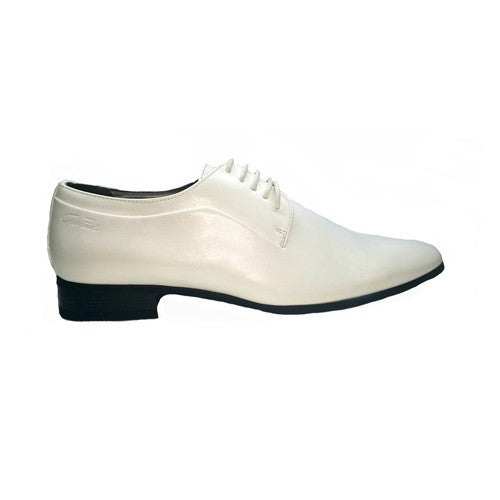 Formal Lace Up - White