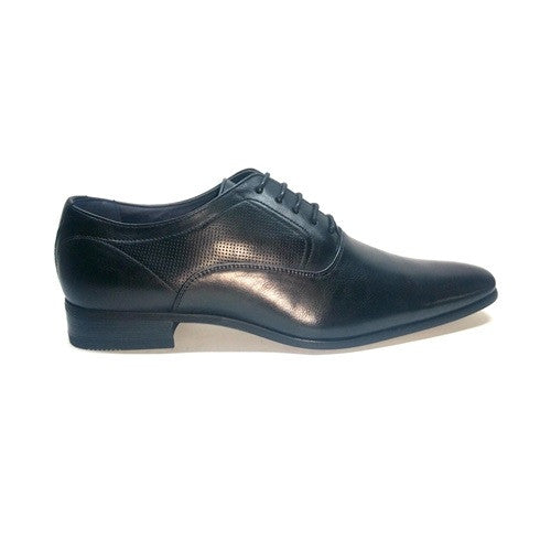 Laser Formal Lace Up - Black