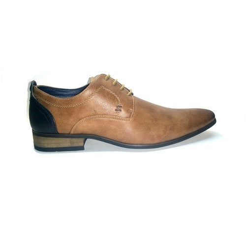 Derby Formal Lace Up - Taupe