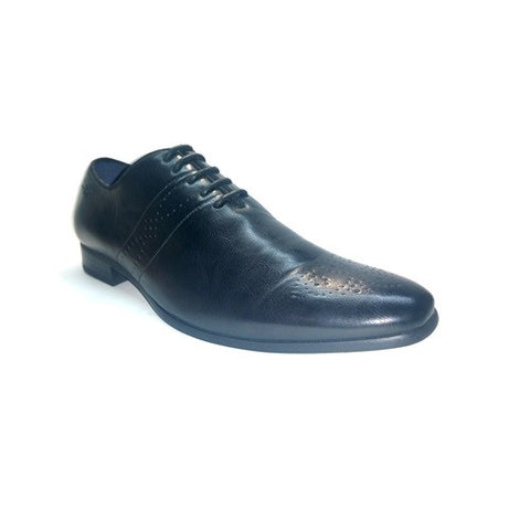 Formal Brogue Lace Up - Black