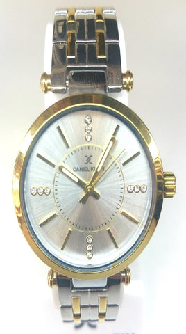 Analog Two Tone Watch - Gold/Silver