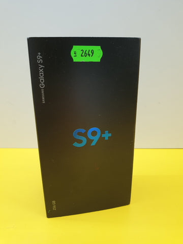 Samsung Galaxy S9 Plus  256 GB FULL BOX!