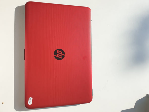 Laptop HP Red