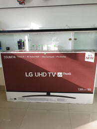 Televizor Smart LED LG, 139 cm, 55UM7400PLB, 4K Ultra HD sigilat - Cashbox Baia Mare