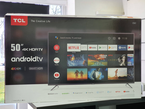 TV TCL 50EP640 LED Smart Android 4K UHD 127 cm