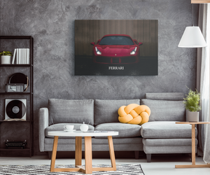 Ferrari - Blend On Canvas