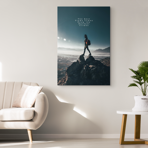 The Best Views - Blend On Canvas