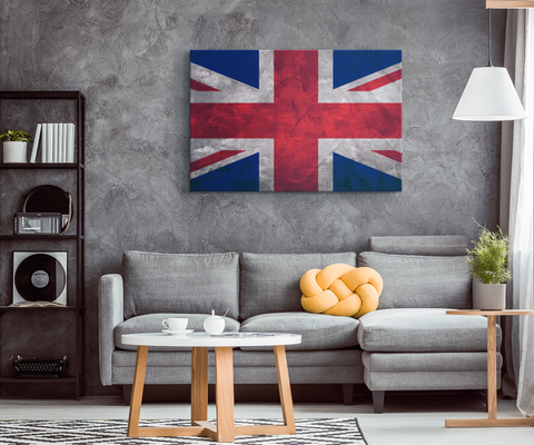 Flag Of United Kingdom - Blend On Canvas
