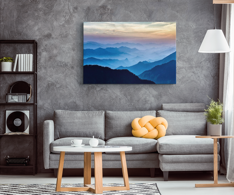 Nepal - Blend On Canvas