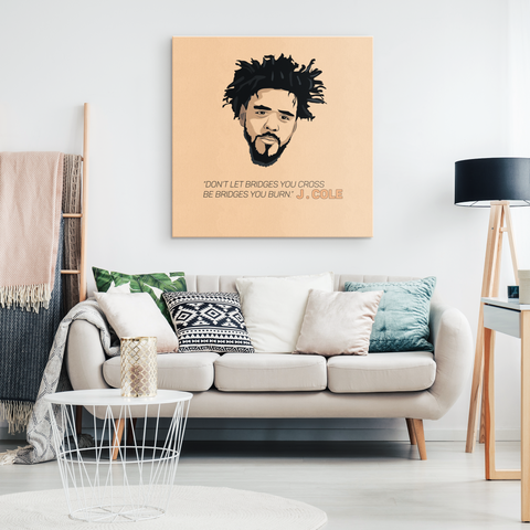 J Cole - Blend On Canvas