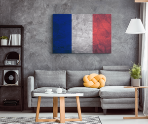 Flag Of France - Blend On Canvas
