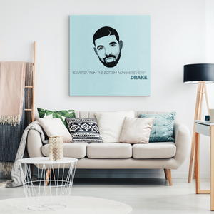 Drake - Blend On Canvas