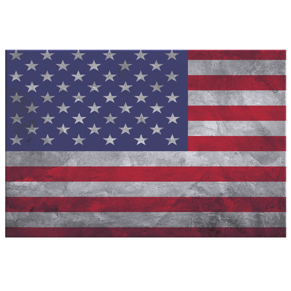 Flag Of United States Of America - Blend On Canvas