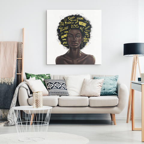 Afro Centric Ego - Blend On Canvas