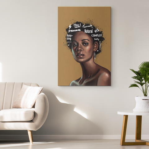 Afro Centric Glow - Blend On Canvas