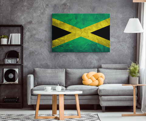 Flag of Jamaica - Blend On Canvas