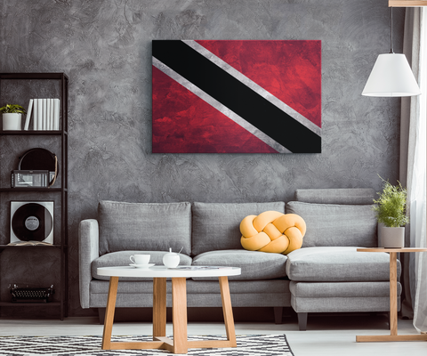 Flag Of Trinidad & Tobago - Blend On Canvas