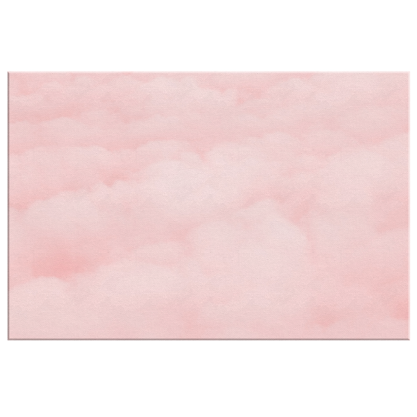 Pink Clouds - Blend On Canvas