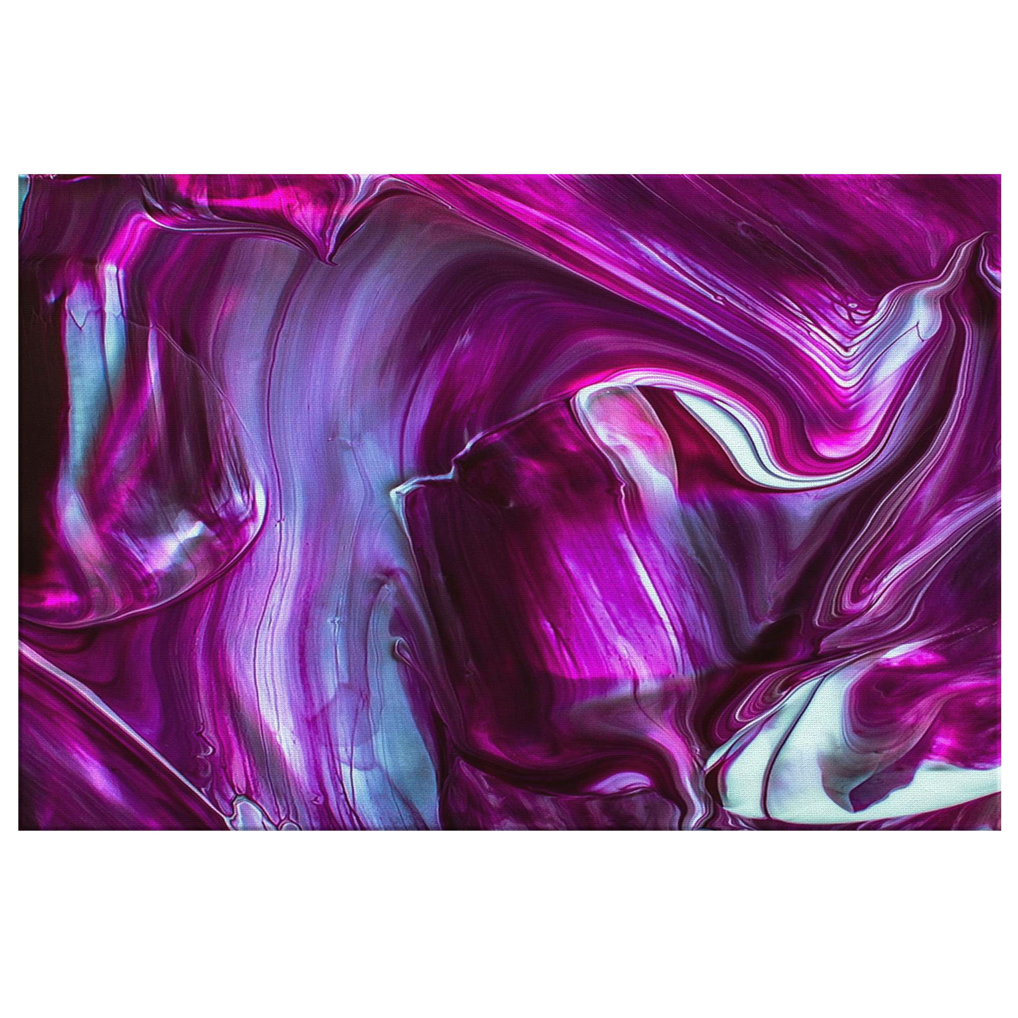 Purple Touch - Blend On Canvas
