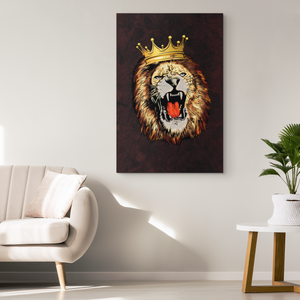 The Lion King - Blend On Canvas