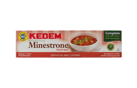 Kedem Minestrone Soup Mix 170G