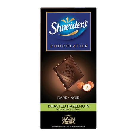 Shneiders Dark/Hazelnut Choc 100G