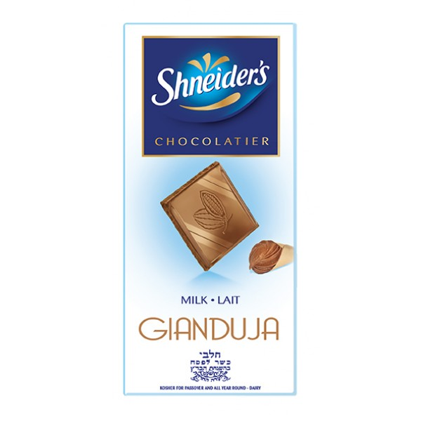 Shneiders Gianduja Milk Choc 100G