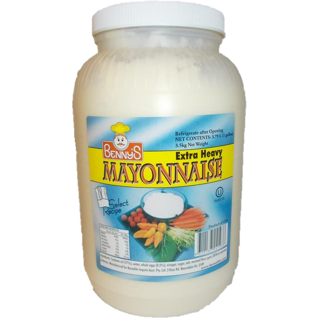 Benny's Mayonnaise 3.79L