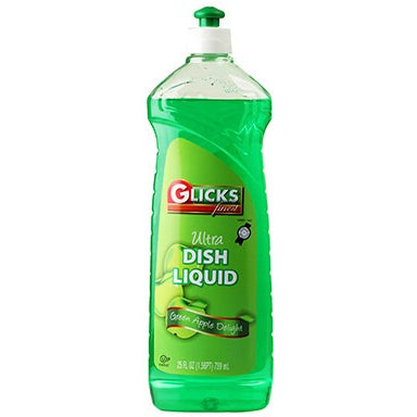 Glicks Dish Lotion Green 739Ml