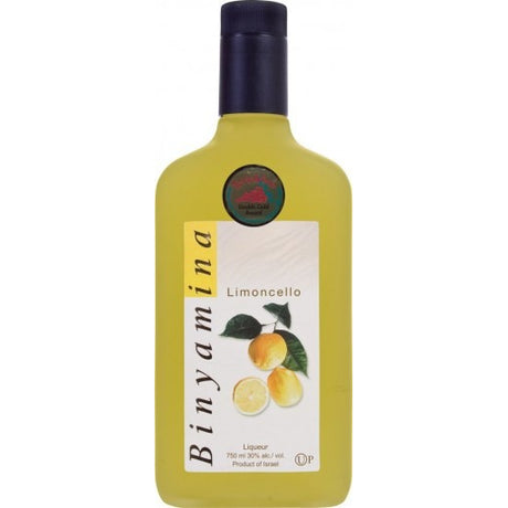 Binyamina Liquor Limoncello 700Ml