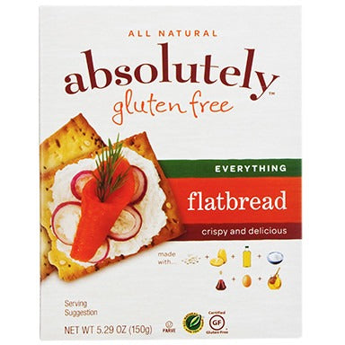Absolutely Gluten Free Everything Flatbread 150G