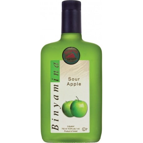 Binyamina Liquor Sour Apple 750Ml