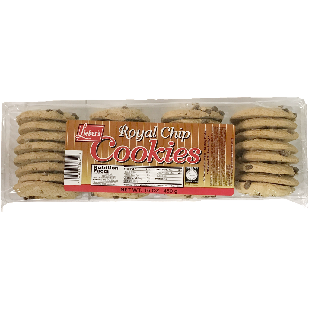 Liebers Chocolate Chip Cookies Royal 450G