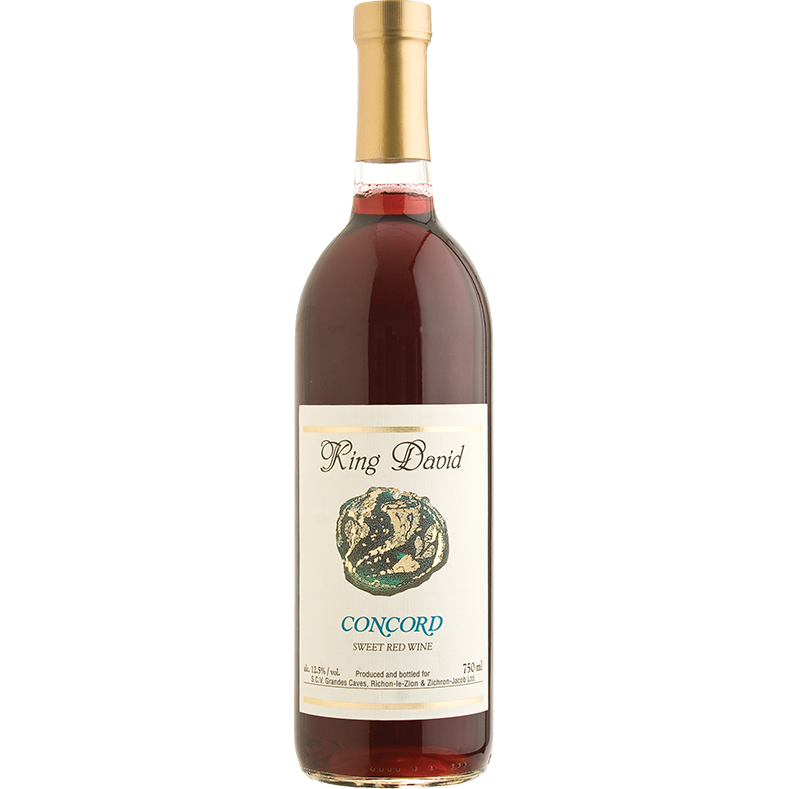 Carmel King David Concord Wine 750Ml
