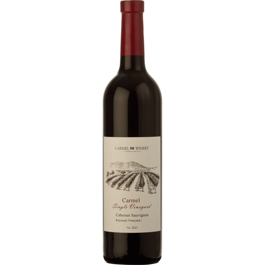 Carmel Single Vineyard Kayoumi Cabernet Sauvignon 750Ml