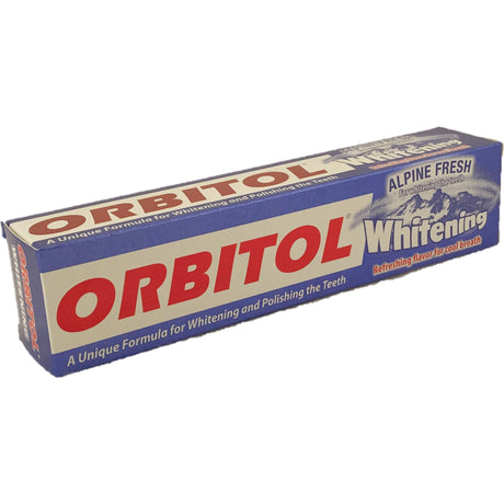 Orbitol Toothpaste Alpine Fresh Whitening 145G