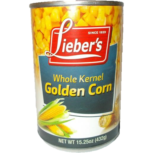Liebers Whole Kernel Golden Corn 432G