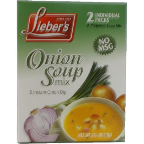 Liebers Onion Soup Mix 78G