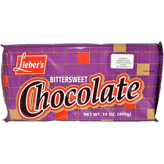 Liebers Cooking Chocolate Bittersweet Klp 400G