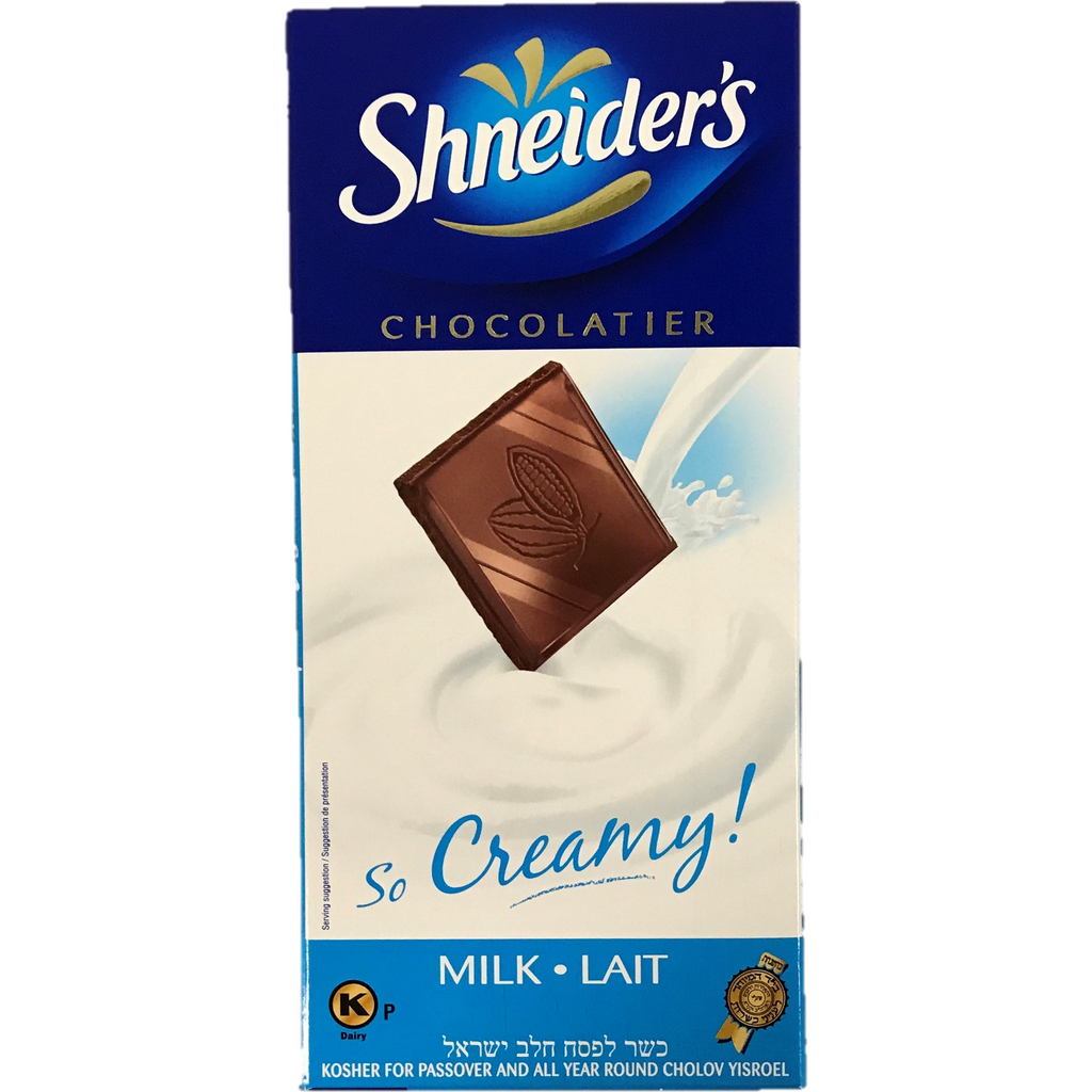 Shneiders Milk Chocolate So Creamy 100G