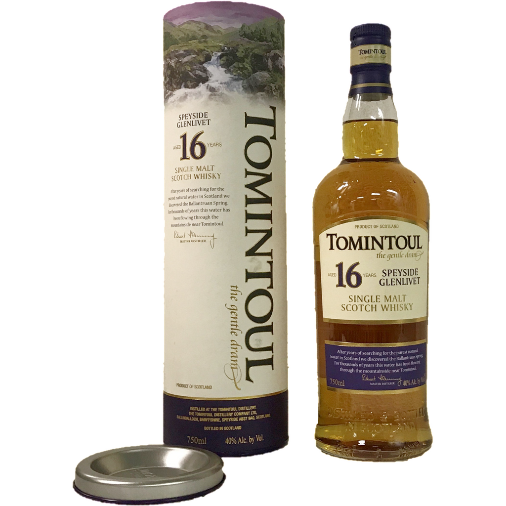 Tomintoul Speyside Glenlivet 16 Years Single Malt Scotch Whiskey 750Ml