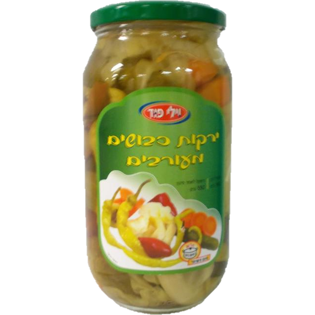 Willi Food Mixed Pickled Vegetables 950G
