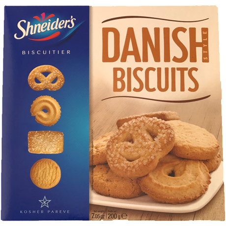Shneiders Danish Style Biscuits 200G