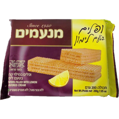 Manamim Lemon Wafers 200G