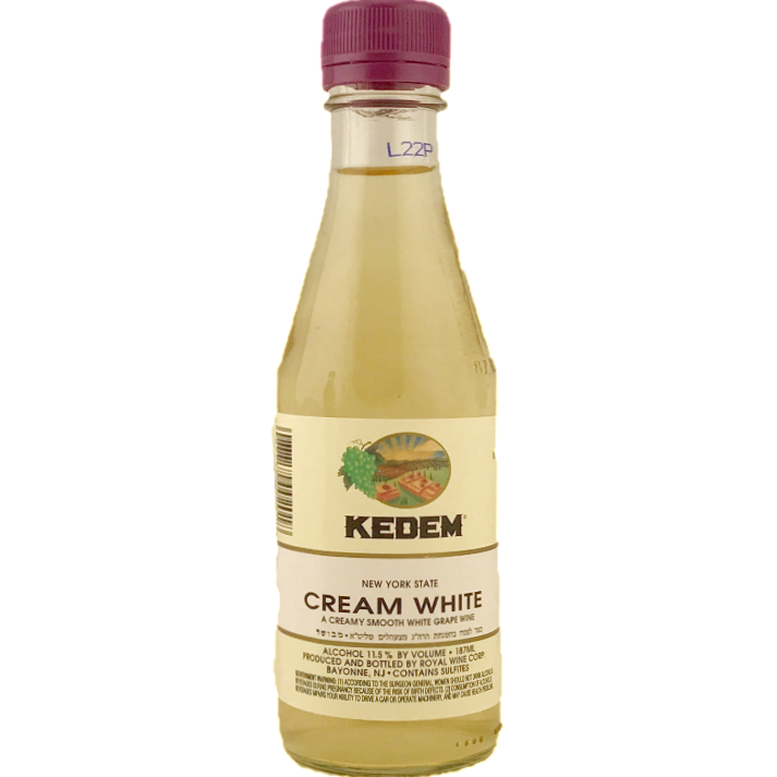 Kedem Cream White Wine 187Ml