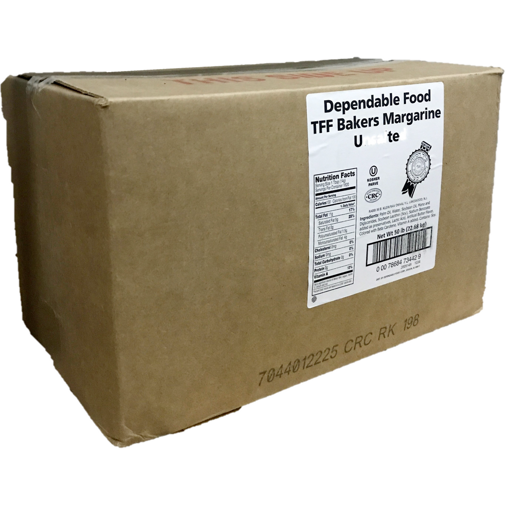 Dependable Unsalted Bakers Margarine 22.7Kg