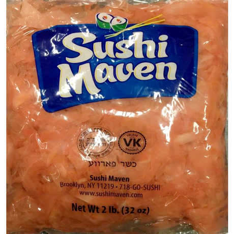 Sushi Maven Pickled Ginger 907G