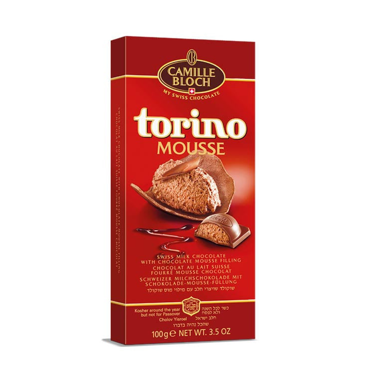 Camille Bloch Torino Mousse Milk Chocolate 100G